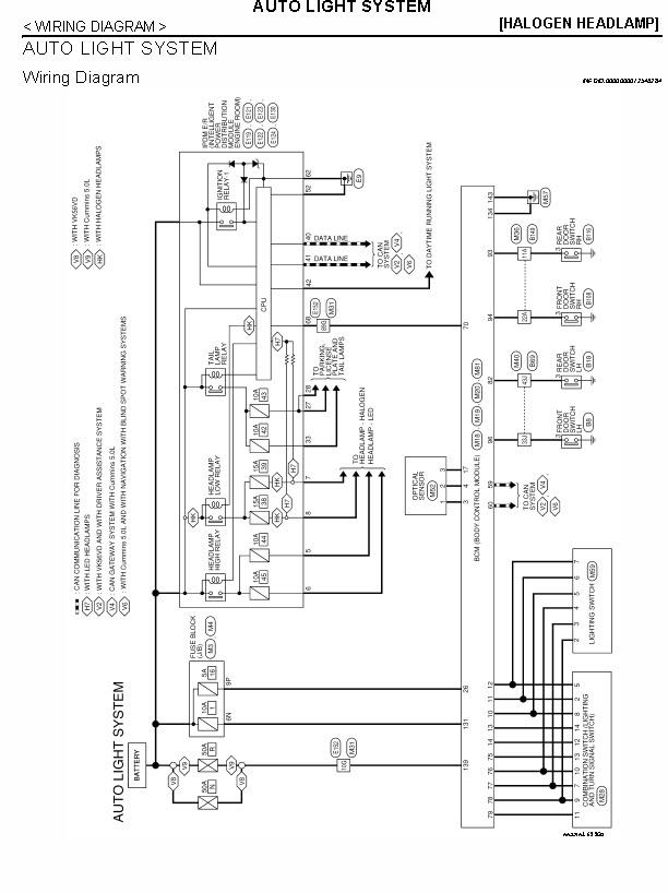 nissan titan headlight wiring diagram headlight swap to premium nissan titan xd forum  nissan titan xd