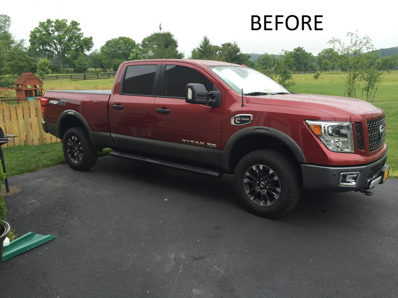 Rough Country 2 Leveling Kit Installed Nissan Titan Xd Forum