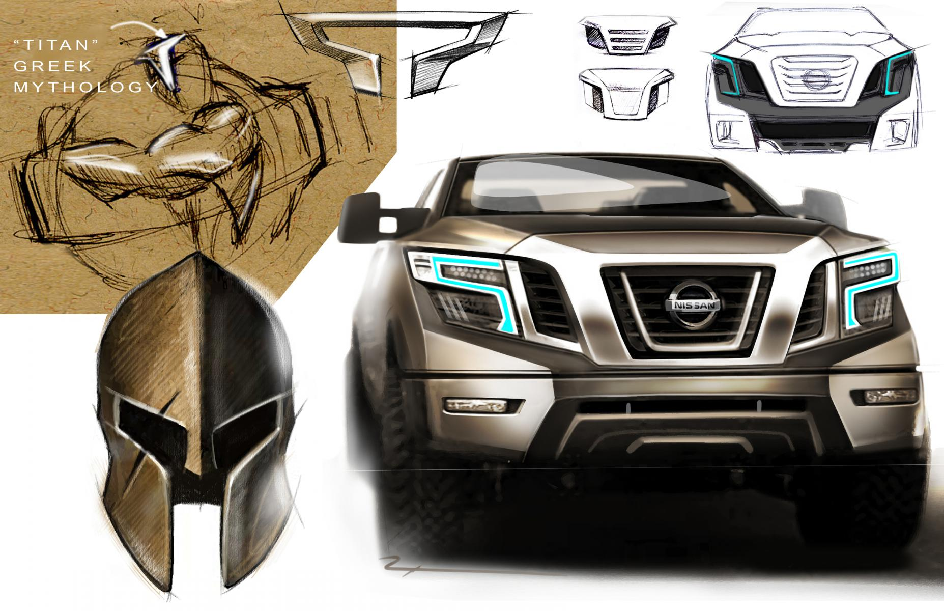 Original concept design sketches exterior interior nissan titan as far as color i am wanting to see a blue titan but im not even sure if they are going to be offering that as an option vanachro Images